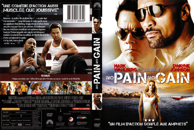 jaquette dvd no pain no gain