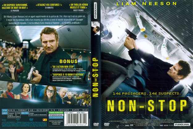 Jaquette DVD Non stop | Absolutecover.com