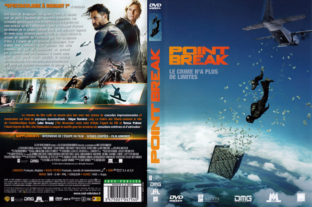 Jaquette DVD point break 2015