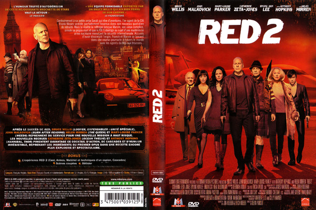 Jaquette DVD red 2