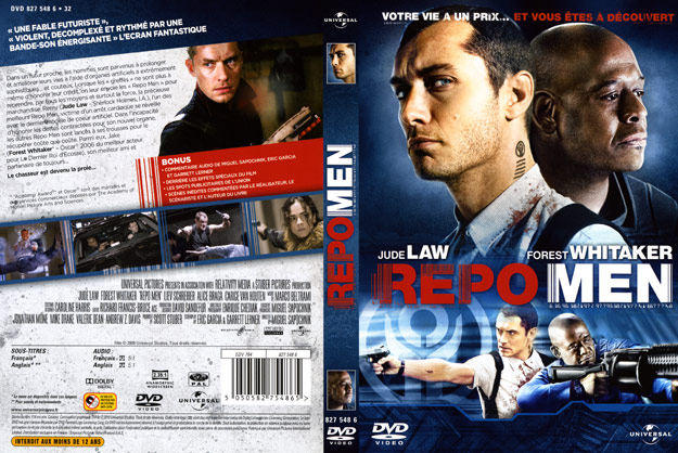 jaquette dvd repo men