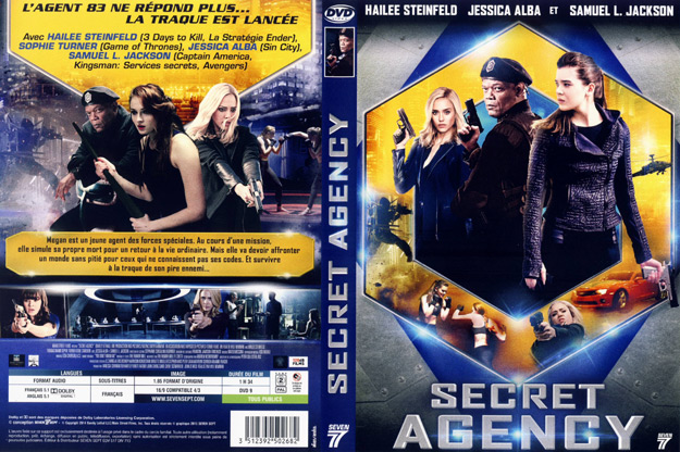 jaquette dvd secret agency