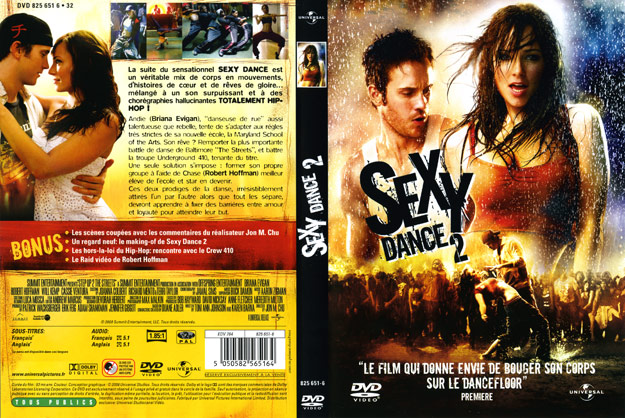jaquette dvd sexy dance 2