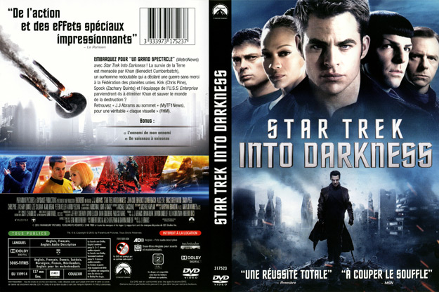jaquette dvd star trek into darkness