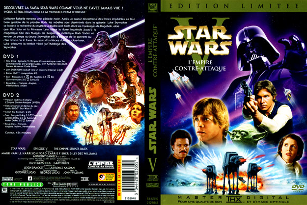 Star Wars Episode V The Empire Strikes Back 2006 LE DVD