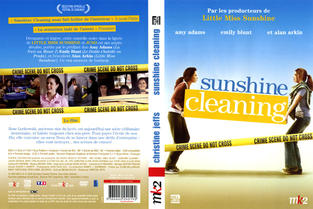 jaquette dvd sunshine cleaning