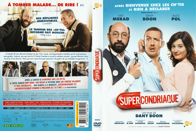 jaquette dvd supercondriaque