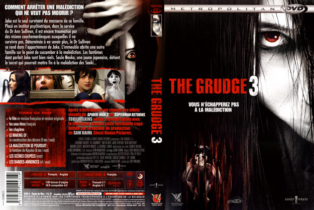 jaquette dvd the grudge 3