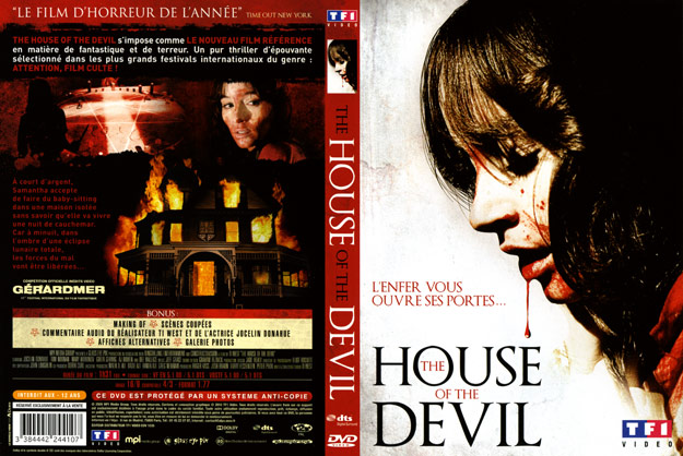 jaquette dvd the house of the devil