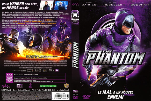 jaquette dvd the phantom
