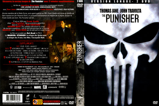 jaquette dvd the punisher