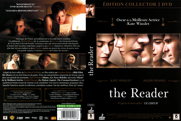 Jaquette DVD the reader
