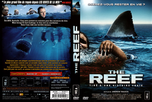 jaquette dvd the reef