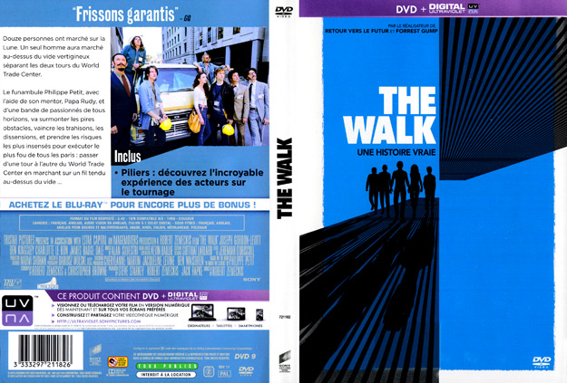 jaquette dvd the walk