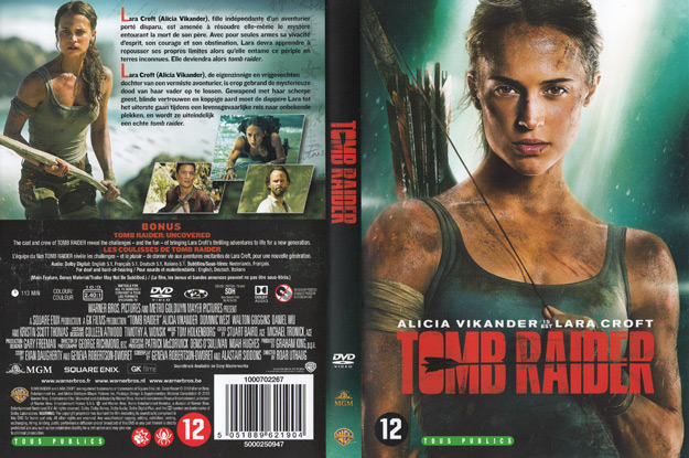 jaquette dvd tomb raider