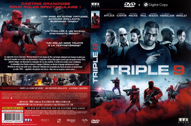 Jaquette DVD triple 9