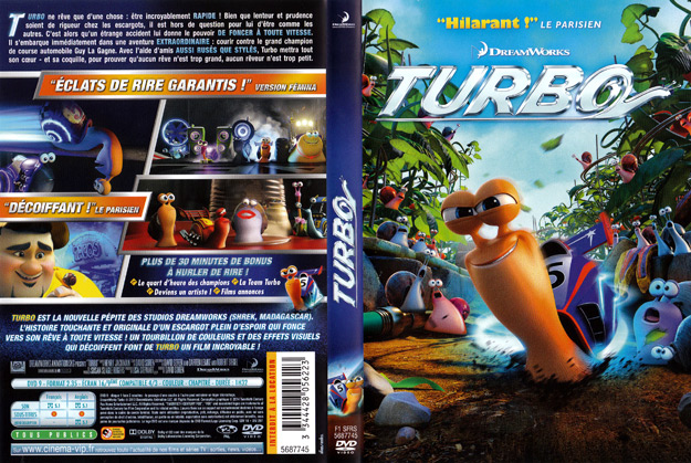 Jaquette DVD turbo