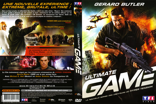 jaquette dvd ultimate game