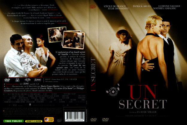 jaquette dvd un secret