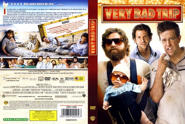 Jaquette DVD very bad trip