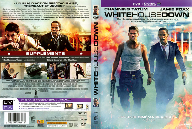 Jaquette DVD white house down