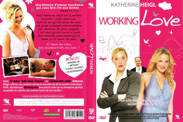 jaquette dvd working love