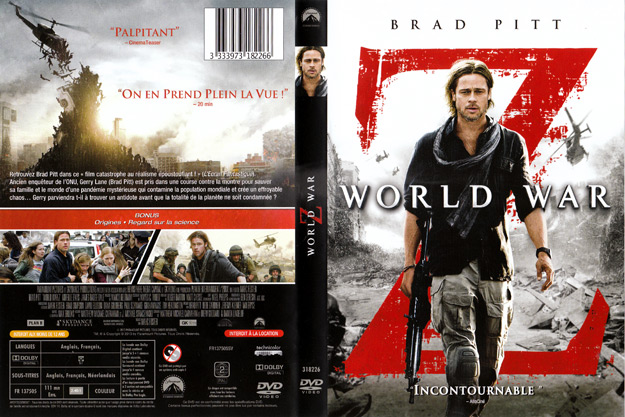 jaquette dvd world war z