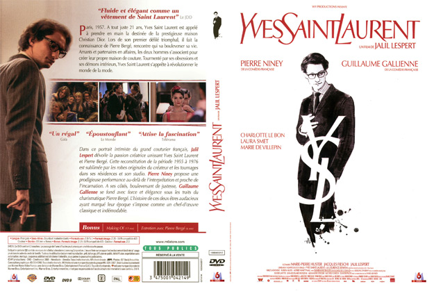 jaquette dvd yves saint laurent